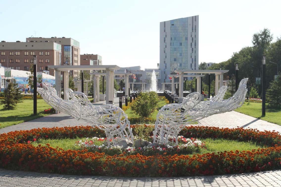 نمایی از دانشگاه فدرال کازان روسیه