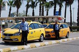 تصویر از مکالمه در تاکسی به زبان ترکی استانبولی